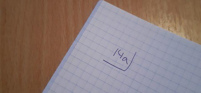 Blog – Die keer dat ik geen wiskunde gaf